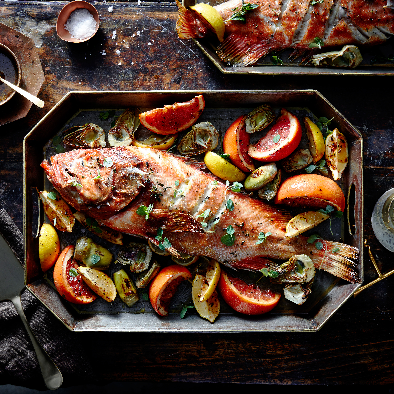 rockfish-artichokes-citrus